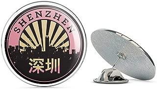 Shenzhen China Chinese Round Metal 0.75
