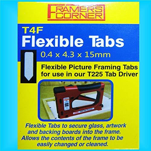 Charnwood 5000 Flexible Tabs T220 T225 C306 C325 Logan Tab Driver Framing Gun