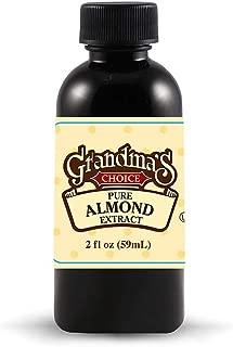 Grandma's Choice 12 Pack Almond Extract, Pure, 2 Fluid Ounce