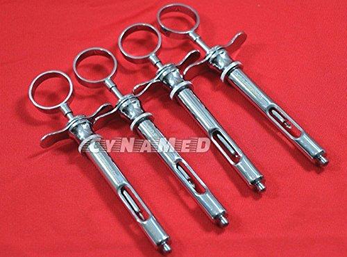 4 Premium Dental Anesthetic Syringe Self-Aspirating 1.8CC-Dental Instruments-A+ (CYNAMED)