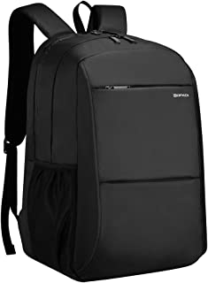 Kopack Business Laptop Backpack with USB Charging Port Anti-Theft Travel bag Computer Backpack Bag Water Resistant 15.6 inch Grey (Black664)