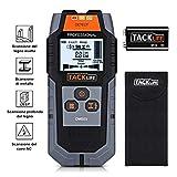 Rilevatore Digitale, TACKLIFE DMS03 Rilevatore di Metallo e Cavi Elettrici, Stud Finder, S...