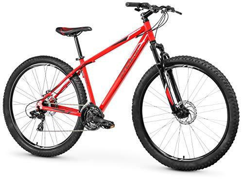 Anakon SK10 Bicicleta de montaña, Hombre, Rojo, L
