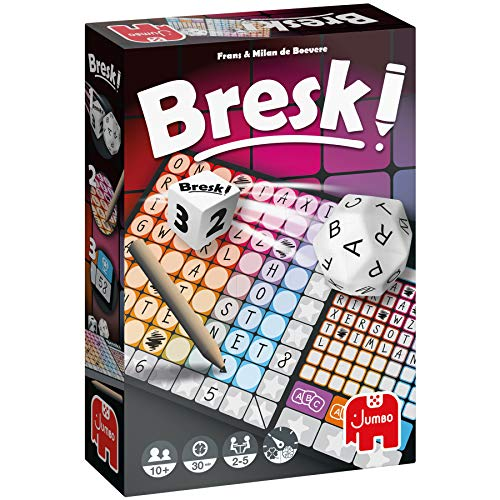 Jumbo Spiele - Bresk! - Gesellschaftsspiel, Familienspiel - Ab 8 Jahren