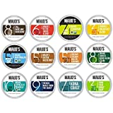 Maud's 12 Flavor Coffee Variety Pack, 136 ct. Recyclable Single Serve Coffee Pods - Richly...
