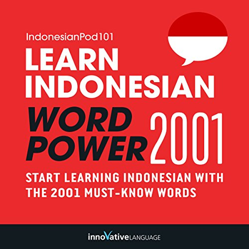 Couverture de Learn Indonesian - Word Power 2001