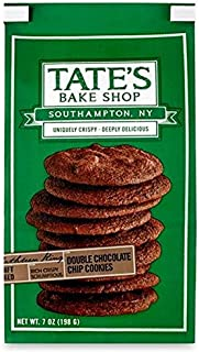 Tate's Bake Shop Double Chocolate Chip Cookies 7 oz. (Pack of 2)