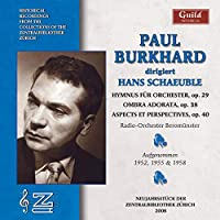 Paul Burkhard Sings Hans Schaeuble