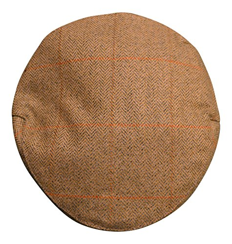 Scotch Tweed - Casquette souple - Homme Vert Vert