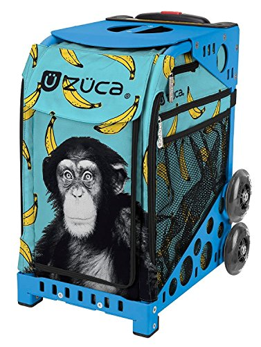 Zuca Monkey Business Sport Insert Bag with Sport Frame (Blue)