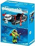 Playmobil 4910 - Kleinboot mit Tiefseetaucher -