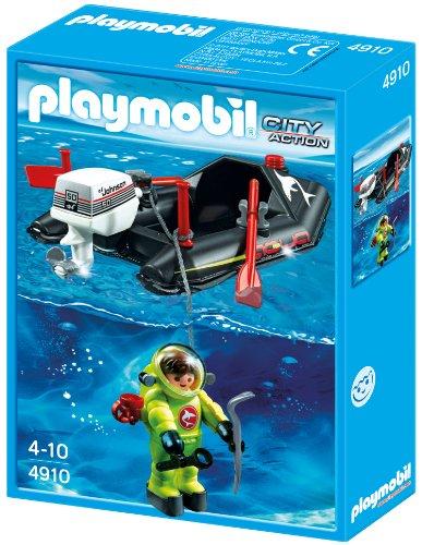 Playmobil 4910 - Kleinboot mit Tiefseetaucher