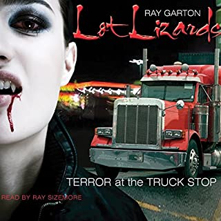 Lot Lizards                   By:                                                                                                                                 Ray Garton                               Narrated by:                                                                                                                                 Ray Sizemore                      Length: 5 hrs and 39 mins     3 ratings     Overall 3.0