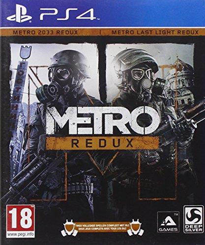 Deep Silver Metro Redux, PS4 PlayStation 4 vídeo - Juego (PS4, PlayStation 4, FPS (Disparos en primera persona), M (Maduro))