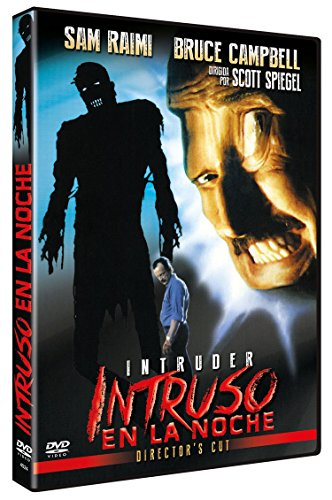 Intruso en la Noche DVD 1989 Intruder  Caratula Reversible