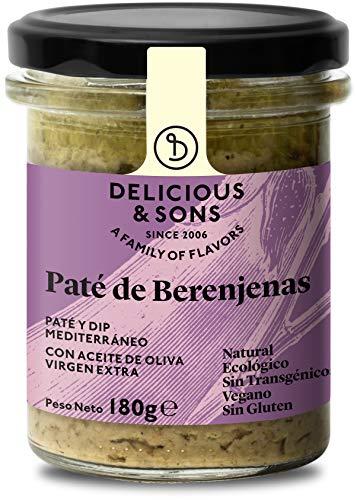 Delicious & Sons Paté de Berenjenas Ecológico 180g