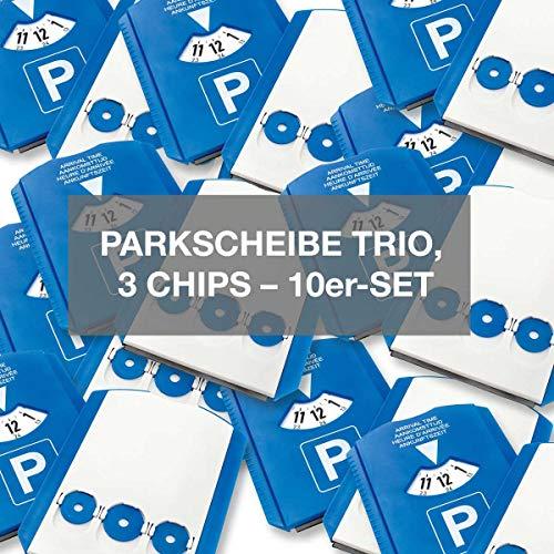 4business 10 Stück Euro-Parkscheibe...