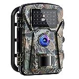 APEMAN - Videocamera da caccia 16 MP 1080P con visione notturna a infrarossi, fino a 65 piedi/20 m, IP66, impermeabile, per esterni, giardino, sorveglianza di sicurezza domestica, verde