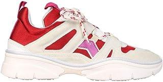 Isabel Marant Luxury Fashion Donna BK005221P032SRDPK Rosso Altri Materiali Sneakers   Stagione Permanente