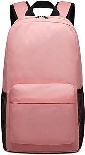 PANFU-AU Student Bag Fashion Trendbackpack Travel Laptop Backpack Business Backpack School Bag Travel Laptop Backpack Leisure Sports Backpack (Color : Pink)