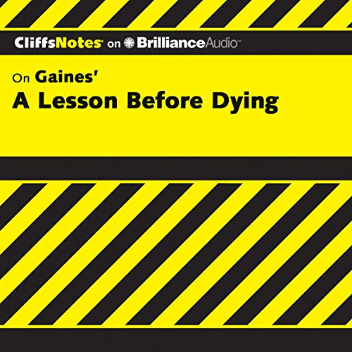 A Lesson Before Dying: CliffsNotes Titelbild