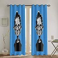 ルーリード (4) 新品 1級遮光 カーテン かわいいカーテン高級簡約 遮光カーテン 防音カーテン 昼夜目隠し 寝室のカーテン 省エネ 厚手 客間のカーテン おしゃれカーテン