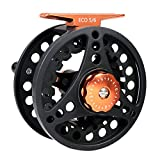 M MAXIMUMCATCH Maxcatch ECO Large Arbor Fly Fishing Reel (3/4wt 5/6wt 7/8wt) and Pre-Loaded Fly Reel with Line Combo