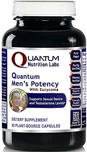 Quantum Men s Potency Promotes Men s Sexual Health and Desire Supports Healthy Testosterone product image