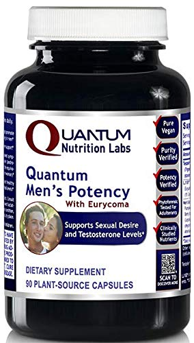 Quantum Men's Potency - Promotes Men's Sexual Health and Desire & Supports Healthy Testosterone Levels Within The Normal Range
