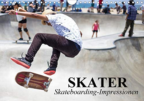 Skater. Skateboarding-Impressionen (Wandkalender 2021 DIN A4 quer)