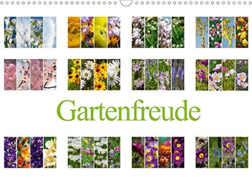 Gartenfreude (Wandkalender 2021 DIN A3 quer)