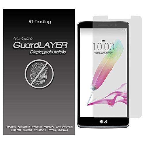 1x LG G4 Stylus - Bildschirm Schutzfolie Matt Folie Schutz Bildschirm Anti Glare Screen Protector Bildschirmfolie - RT-Trading