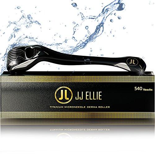 Dermal Microneedle Beard Roller (Titanium) by JJ Ellie