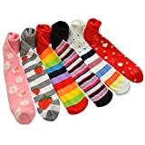 Angelina 6 Pairs Girls Fancy Designed Tights #003_ASST_L