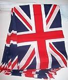 AZ FLAG Guirnalda 6 Metros 20 Banderas del Reino Unido 21x15cm - Bandera Inglesa - BRITANICA – UK 15 x 21 cm - BANDERINES