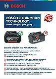 Bosch 06019G80F1 GSR120-Li Cordless Drill Driver, 12V Single Battery