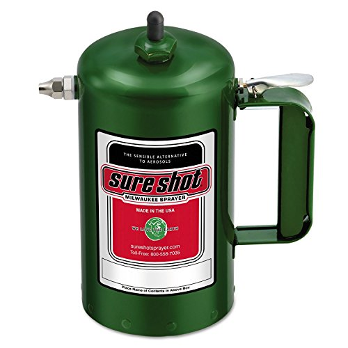 Sure Shot A1000G Sprayer Steel Interior, Green Exterior, 32 oz Capacity