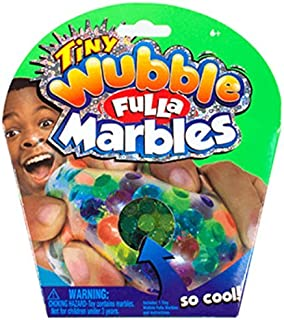 NEW! Tiny Wubble Fulla Marbles Wubble Ball