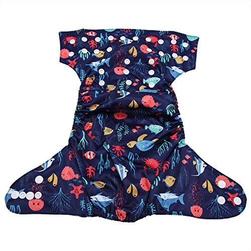 Umweltfreundliche Wiederverwendbare Säugling Schwimmen Windel Tasche Stoff Windel Haken Schleife Betriebssystem Größe Einstellbar Wasserdicht Schwimmen Tragen Unisex Pool Hosen für Kinder(BL020)