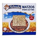 Yehuda Matzot Kosher Pan sin levadura 1 KG sin levadura pan azimo