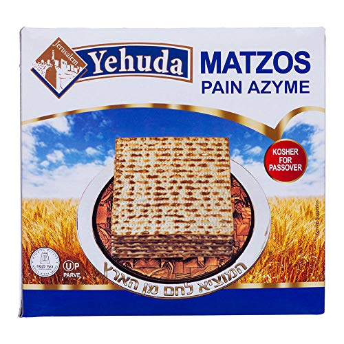 Yehuda Matzot Kosher Pan sin levadura sin levadura pan azimo (1000 Gr)