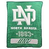 NCAA Collegiate Varsity Super Soft Plush Throw Blanket (North Dakota Fighting Hawks)