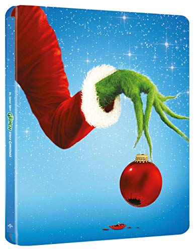 How the Grinch Stole Christmas 4K UHD Steelbook 20th Anniversary [Blu-ray] [2020]