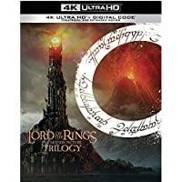 The Lord of the Rings: Motion Picture Trilogy on 4k Ultra HD + Blu-Ray + Digital (Extended & Theatrical)