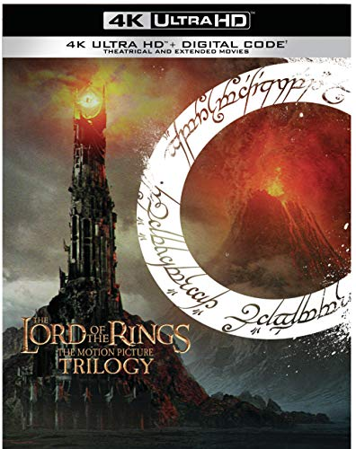 Lord of the Rings Trilogy 4k Blu-Ray + Digital (Extended and Theatrical) $79.96