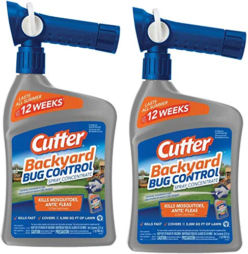 Cutter Backyard Bug Control Spray Concentrate, 32-Ounce (32 Ounce 2 Pack)