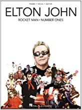 Elton John - Rocket Man: Number Ones (Piano/Vocal/Guitar Artist Songbook)