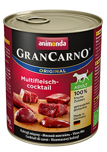 Animonda Gran Carno Hundefutter Adult Probierpack Adult Mix 2 (6 x 800 g) - 2