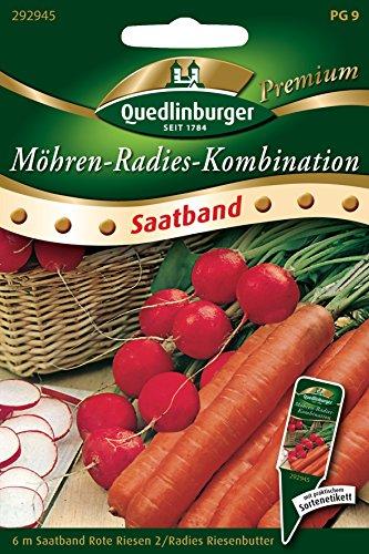 Radies & Möhren - Cinta para semillas (6 m)