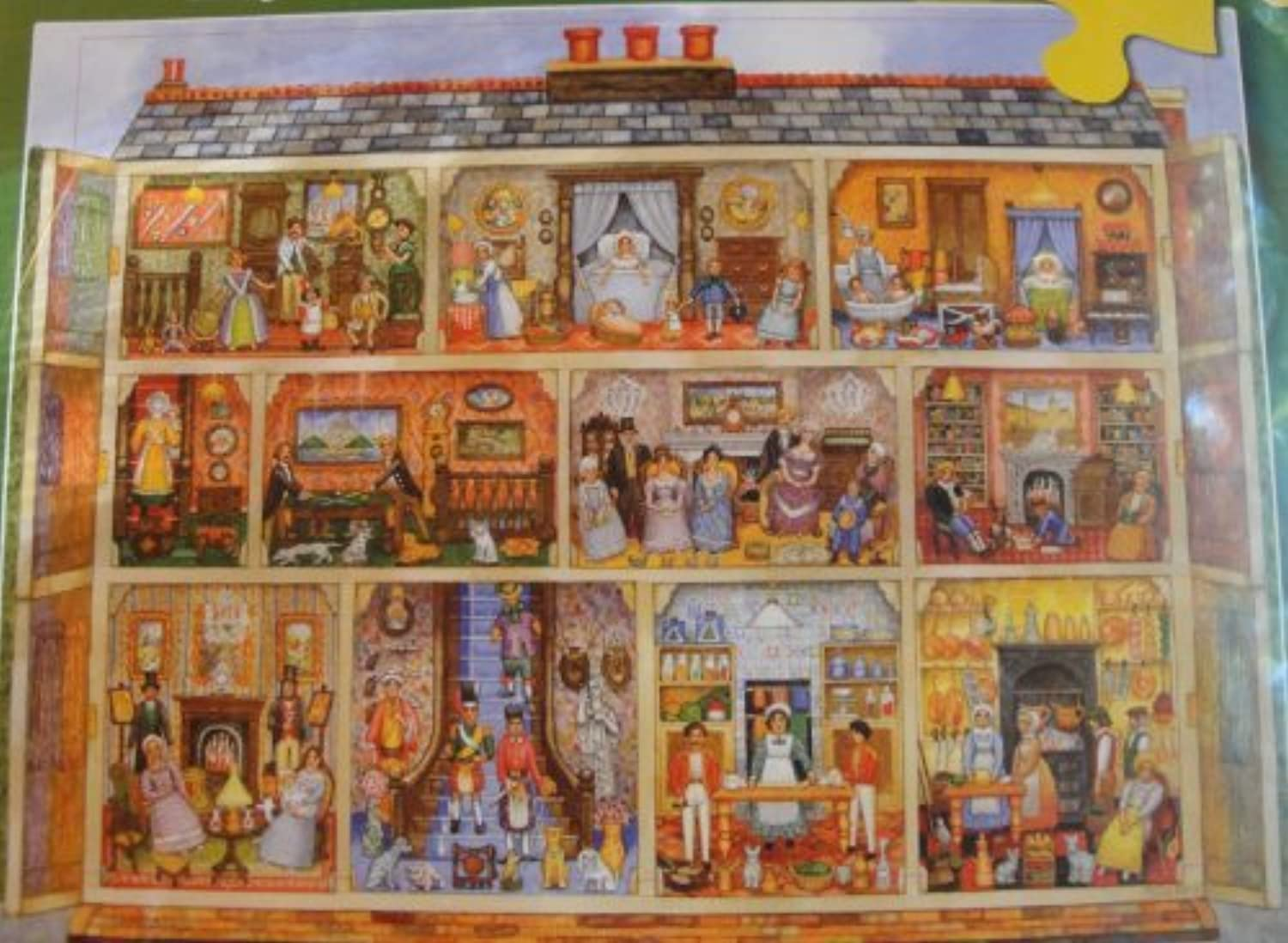 Victorian Dollhouse Jigsaw Puzzle by Great American Puzzle Factory